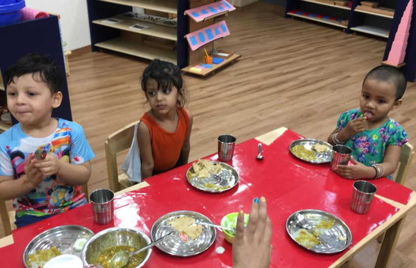 Chow Time at Ubuntu Montessori: Feeding with Love and Good Senses